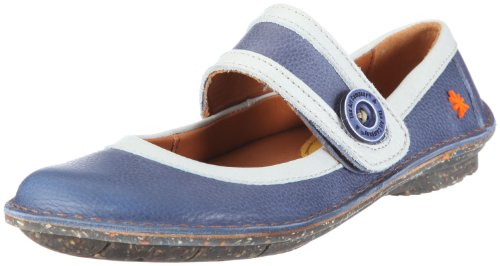 Art Granada Women's Ballerina Blue/VAQUERO-WHITE UK 5
