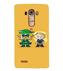 EPICCASE Super Hero Mobile Back Case Cover For LG G4 (Designer Case)