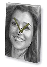 ALYSON HANNIGAN - Canvas Clock (LARGE A3 - Signed by the Artist) #js003