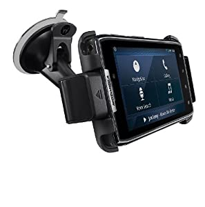 Motorola DROID RAZR Vehicle Navigation Dock with Rapid Vehicle Charger - Car Kit - Retail Packaging - Black
