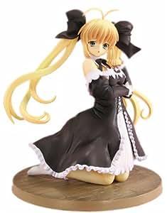 Amazon.com: Koharu Biyori Maid Yui Black Dress Ver. 1/8 figure: Toys