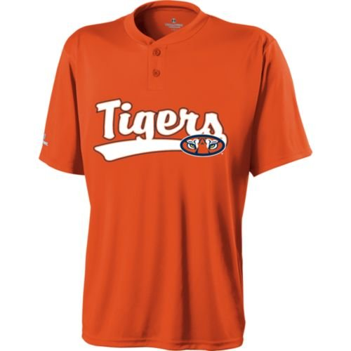 2-BUTTON AUBURN TIGERS Dry Excel Placket ADULT 2XL Licensed NCAA College Replica Jersey at Amazon.com