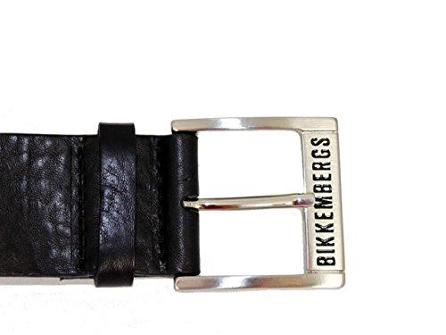 BIKKEMBERGS - Cintura - Uomo Nero  nero