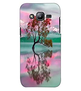 ColourCraft Beautiful scenery Design Back Case Cover for SAMSUNG GALAXY J2 DUOS