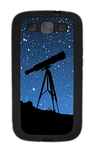 Samsung S3 Case Sky Telescope Tpu Custom Samsung S3 Case Cover Black