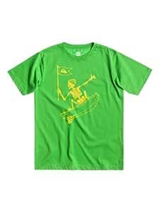 Quiksilver Basic T-Shirt manches courtes garçon Grasshopper FR : 12 ans (Taille Fabricant : T12)