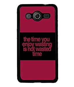 printtech Funny Quotes Back Case Cover for Samsung Galaxy Core Prime G360