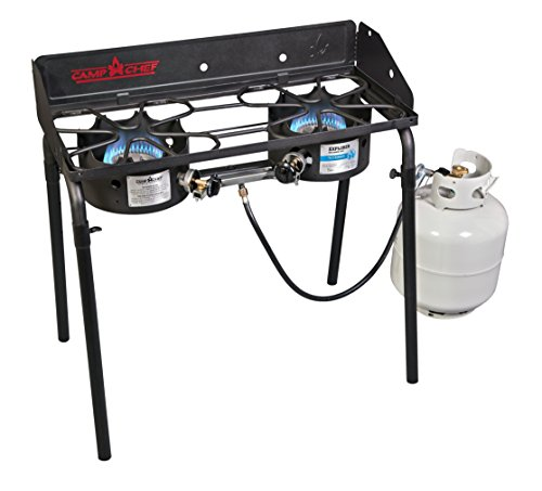 Camp Chef Explorer Series EX-60LW 2-Burner Modular Cooking System, Black (Cook Stove For Camping compare prices)