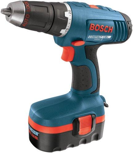Bosch 34618 18-Volt 1/2-Inch CompactTough Drill/Driver Kit