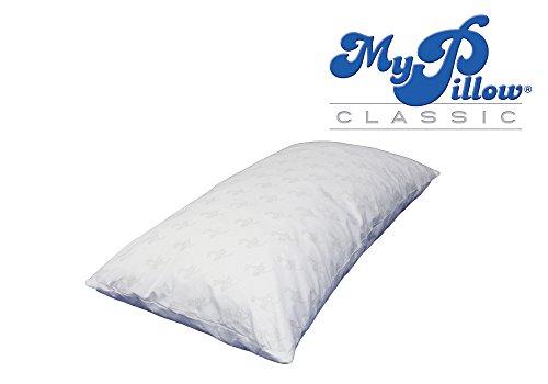 my pillow classic series bed pillow king size medium home garden bathroom accessories bath pillows. Black Bedroom Furniture Sets. Home Design Ideas