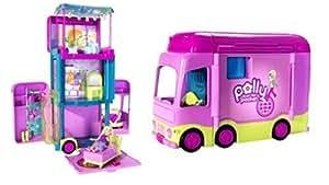 Mattel L1932 - POLLY POCKET Abenteuer Reisebus