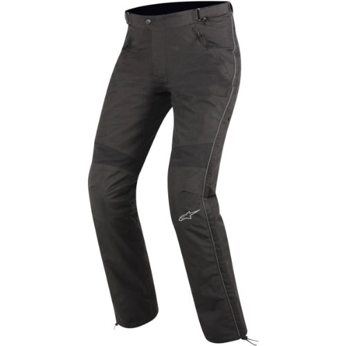 Alpinestars Express Drystar Textile Overpants , Distinct Name: Black, Primary Color: Black, Size: 2XL, Gender: Mens/Unisex, Apparel Material: Textile 3222012-10-2XL