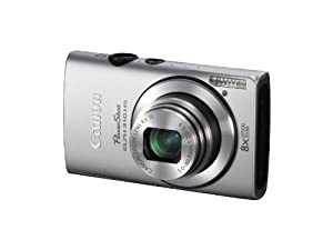 Canon PowerShot ELPH 310 HS 12.1 MP CMOS Digital Camera with 8x Wide-Angle Optical Zoom Lens and Full 1080p HD Video (Silver)