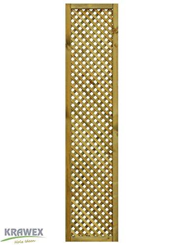 rankgitter aus holz sichtschutzzaun 40x179cm. Black Bedroom Furniture Sets. Home Design Ideas