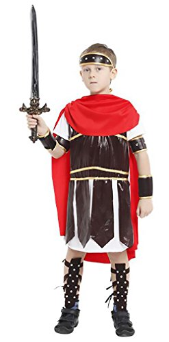 GDSTORE Halloween Boys Roman soldier Cosplay Costume