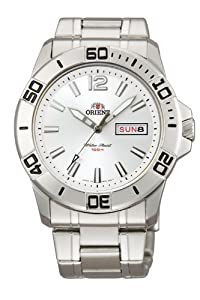Orient Men's CEM76003W Orca Solid Band Watch