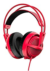 SteelSeries Siberia 200 51135 Gaming Headset (Forged Red)