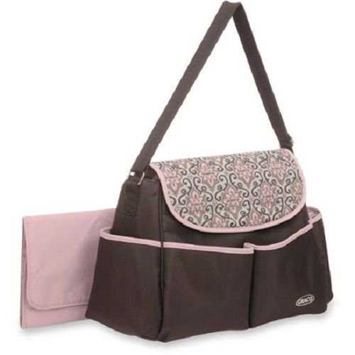 Graco Mina Messenger Diaper Bag - 1