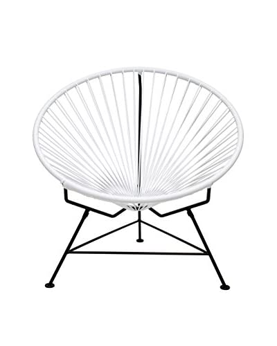 Innit Designs Innit Chair, White/Black