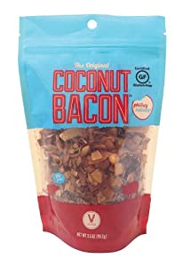Coconut Bacon (2 Pack/Bags) - Enjoy Crunchy Coconut Chips With A Bacon Flavor - Gluten Free and Vegan Friendly Snack Food!
