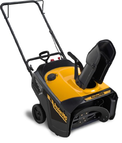 Great Features Of Poulan Pro PR521 21-Inch 136cc Single Stage Snow Thrower