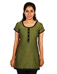 Aashitha Women's Poly Cotton Straight Kurta