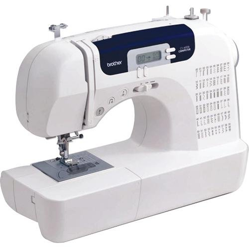 deluxe electronic sewing machine cs6000i