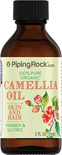 Camellia 100% Pure Oil 2 fl oz Cold Pressed Carrier Oil (Camellia Oil Spray compare prices)
