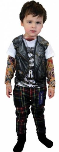 Costumes for all Occasions FR116815XS Tattoo Long Sleeve Youth Xs