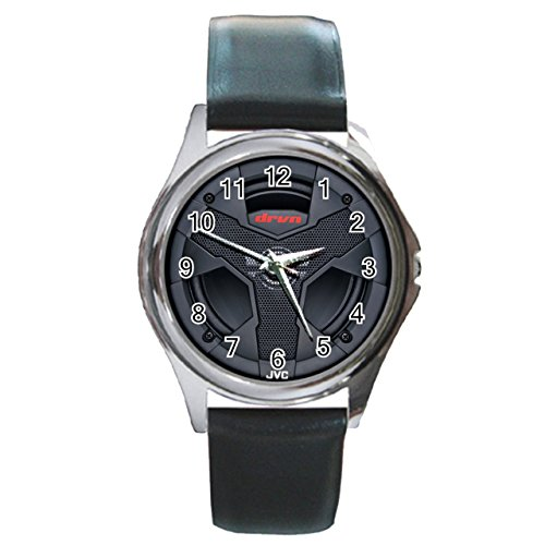 jvc-cs-vaudio-car-subwoofer-round-metal-watch