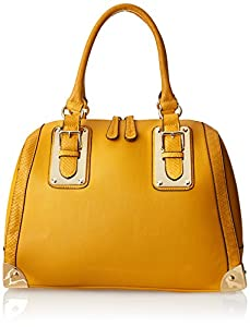 Aldo Adelaide Top Handle Bag,Mustard,One Size