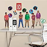 (9x40) One Direction Peel & Stick Wall Decals