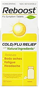 Reboost Cold/Flu Symptom Tablets, 100 Count