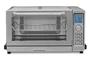 Cuisinart TOB-135 Deluxe Convection Toaster Oven Broiler, Brushed Stainless by Cuisinart
