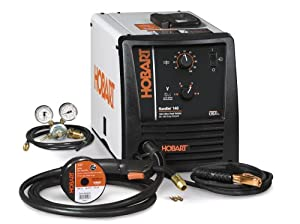 Hobart 500500 Handler 140 115-Volt 25-to-140 Amp Gas/Metal/Arc Single-Phase Wire Welding Package by Hobart