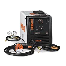Hobart 500500 Handler 140 115-Volt 25-to-140 Amp Gas/Metal/Arc Single-Phase Wire Welding Package