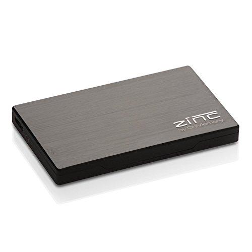 CnMemory Zinc 160GB externe Festplatte (6,4 cm (2,5 Zoll), USB 3.0) anthrazit