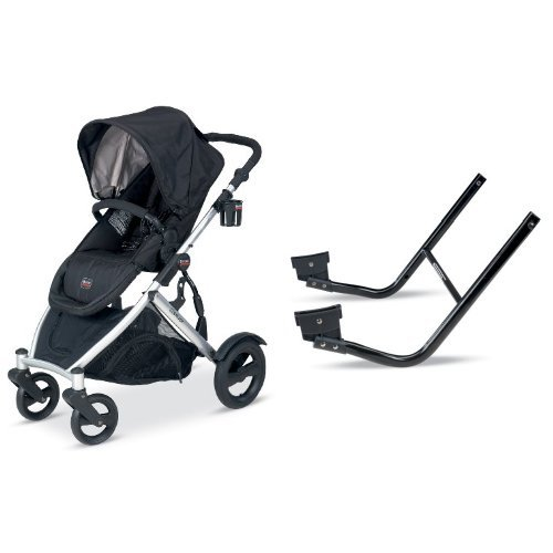 britax b ready stroller black and b ready lower infant car seat adapter baby shop. Black Bedroom Furniture Sets. Home Design Ideas