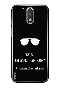Noise Designer Phone Case / Cover for Moto G4 Plus, 4th Gen / Moto G4 Plus (4th Generation) / Patterns & Ethnic / Hum Apke Hai Kaun (VD-12)
