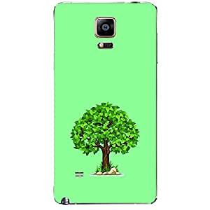 Skin4gadgets Spring Tree Colour - Light Sea Green Phone Skin for SAMSUNG GALAXY NOTE 4 (N910)