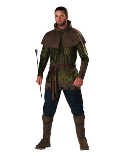 Adult-Costume Robin Hood Adult Md Halloween Costume - Adult Medium