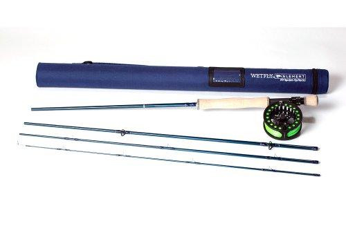 Wetfly Element Rod/Reel/Box Combo - root, 8wt