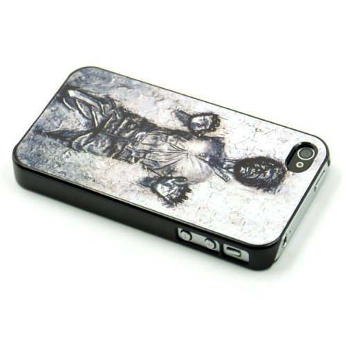 official photos 1c763 aaaa2 Han Solo Carbonite iPhone 4/4s Case - Hard Plastic Cell Phone Case ...