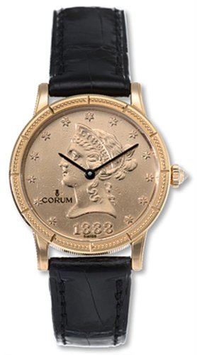 Corum Women's 049-357-56-0081 MU36 Coin 18k gold Watch