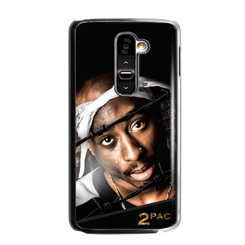 2Pac Tupac Greatest Hip Hop Rapper And Actor Personalized Durable Plastic Case For Lg G2 (Fit For At&T)