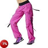 Zumba Fitness Donna Cargo Pantaloni Ultimate Orbit, Rosa (berry), L