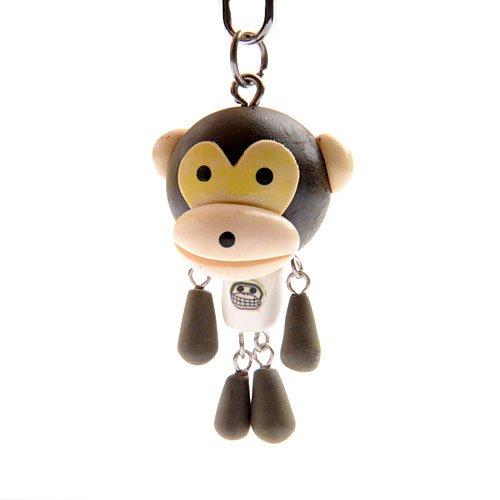 sasa公主软陶钥匙链多用挂件韩国流行前线时尚百搭款-monkey不爱平行