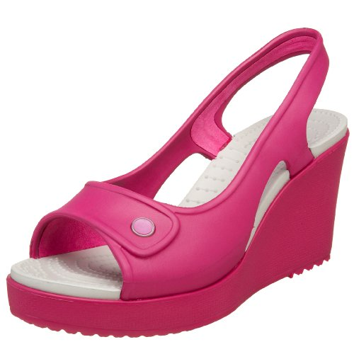 crocs Women's Havana Wedge Slingback