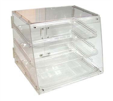 Winco Adc-3 3-Tier Pastry Display Case, Acrylic front-167711