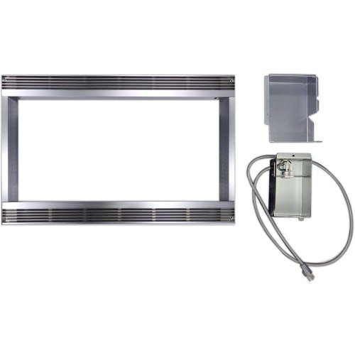 30 In. Trim Kit for Sharp Built-In Microwaves R530ES and R530BS
